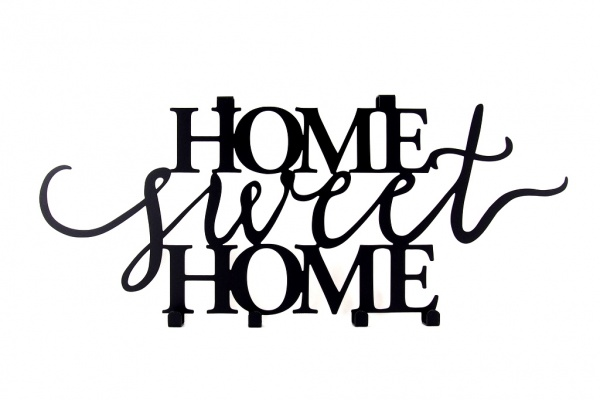 Home sweet Home na drzwi - bez montażu!
