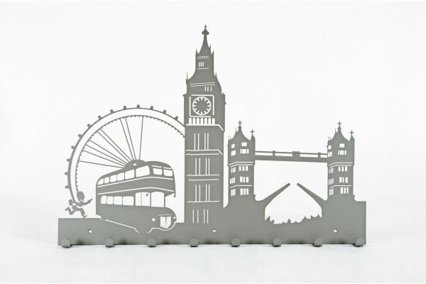 Wieszak do przedpokoju Londyn bez napisów ('60)