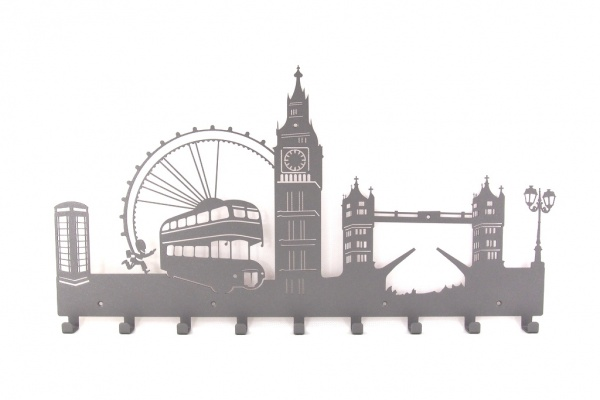 Wieszak do przedpokoju Londyn bez napisów ('70)