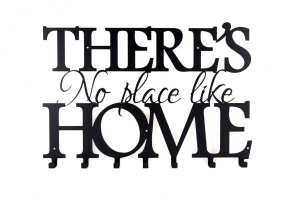 Wieszak do przedpokoju There is no better place than home NEW