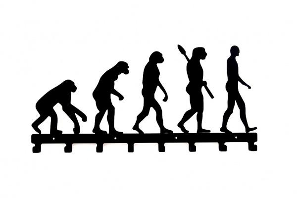 Wieszak dekoracyjny do przedpokoju Ewolucja