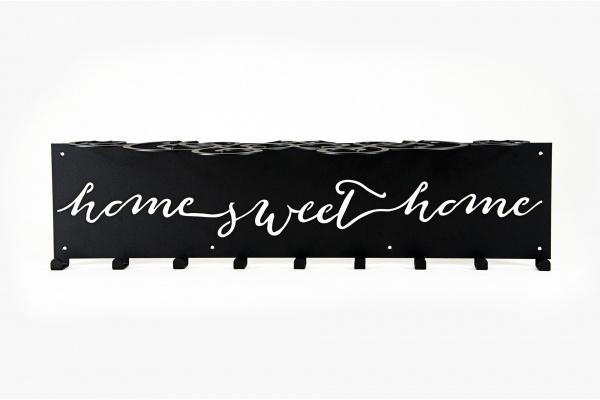 Wieszak do przedpokoju z półką Home sweet Home