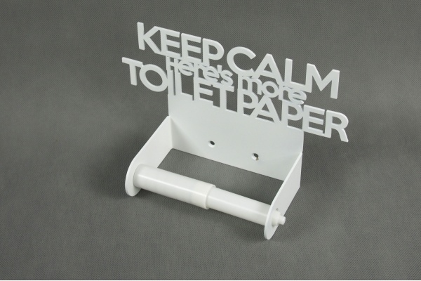 Keep calm here's more toilet paper