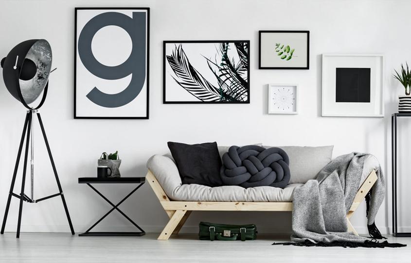 Styl minimalistyczny w salonie — jak nie stracić kontroli nad salonem